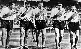 Alfredo Di Stéfano - Di Stéfano with La Maquina in 1947.