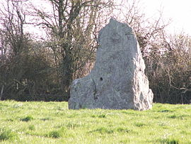 The menhir of Riverais
