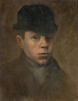 Ladislav Mednyánszky - Mladý pohonič - O 6738 - Slovak National Gallery