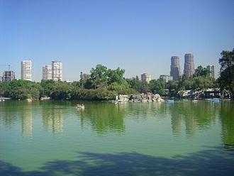 Chapultepec - Image: Lago de Chapultepec