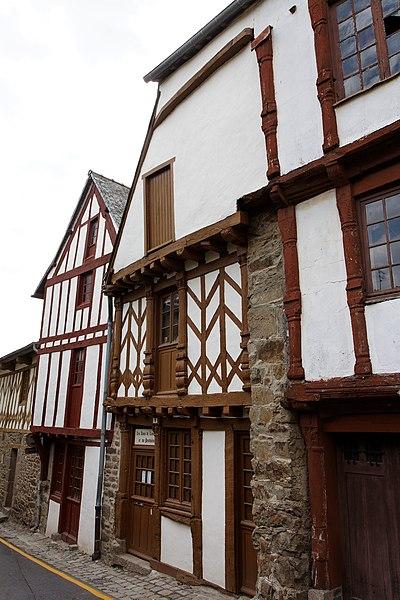Maison à pans de bois - 5 rue du Four - Lamballe (Côtes d'Armor)