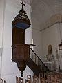Lamonzie-Montastruc église chaire.JPG