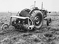 Landbouwwerktuigen, landbouwmachines, grondfrees, tractor rotary hoe, Bestanddeelnr 194-1378.jpg