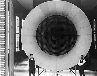 Honeycomb structure - Honeycombed, screened center for Langley's first wind tunnel