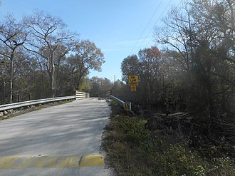 Withlacoochee River (Florida) - Image: Lanier Bridge at Withlacoochee River County Park