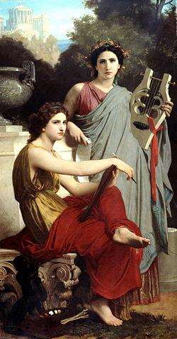 Искусство и литература. 1867, Музей искусств Арно, Нью-Йорк