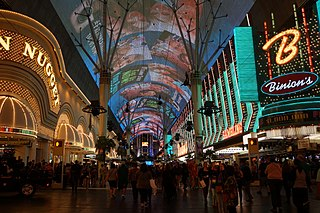 Downtown Las Vegas human settlement in United States of America