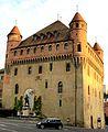Lausanne, Château Saint-Maire, tôt le matin.jpg