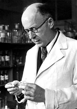 Testosterone - Nobel Prize winner, Leopold Ruzicka of Ciba, a pharmaceutical industry giant that synthesized testosterone.