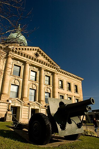 Ironton, Ohio - The Lawrence County, Ohio courthouse in Ironton, Ohio