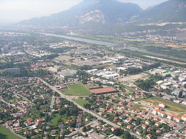 A general view of Le Fontanil