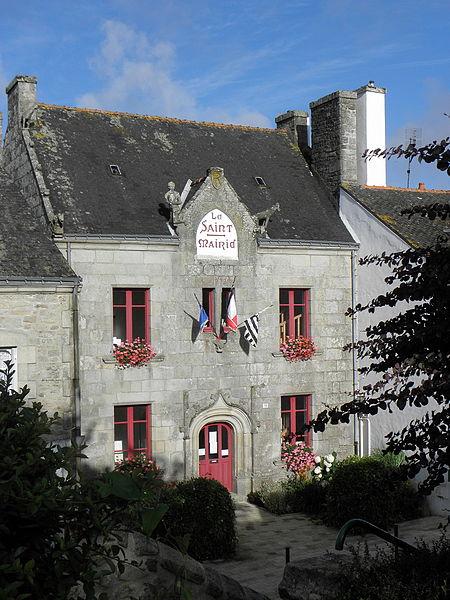Mairie du Saint (56).