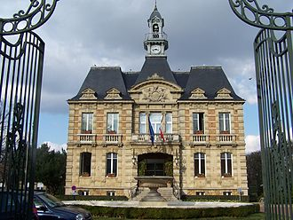 Le Vésinet - The town hall in Le Vésinet