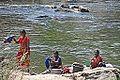 Le lavage du linge (Uthamapalayam, Inde) (14124581124).jpg
