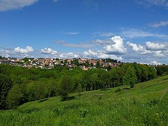 Lemberg, Moselle - Village view
