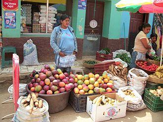 Lenca - Lenca at a market in La Esperanza, Honduras
