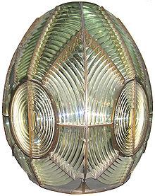 Una lente di Fresnel