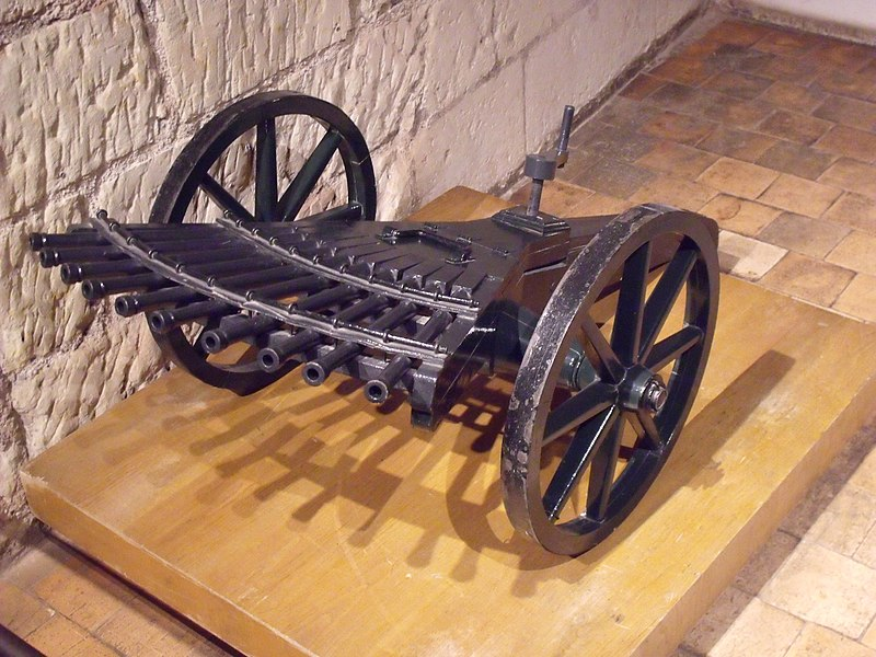 File:Leonardo da Vinci Machine Gun.jpg - Wikimedia Commons
