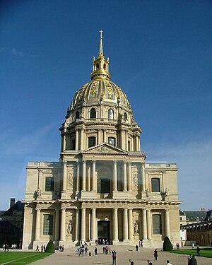 La Tour-Maubourg (Paris Métro) - Image: Les Invalides in Paris
