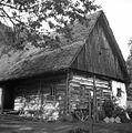 Lesena kmetska hiša z leta 1664, u Kamnah, Gorenji Novaki 1954.jpg