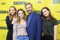 Leslie Mann, Iris Apatow, Maude Apatow and Judd Apatow at SXSW Red Carpet premiere of BLOCKERS (26876897268).jpg