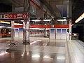 Letňany, stanice metra, konec nástupiště.jpg