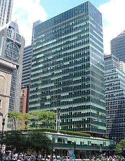 Lever House Office skyscraper in Manhattan, New York