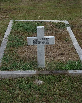 Levi Celerio - Levi Celerio's grave at the Heroes' Cemetery in Taguig