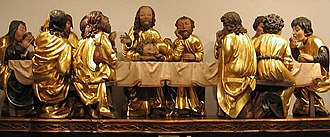 "Maundy Thursday - ""The Last Supper"" – museum copy of Master Paul's sculpture"