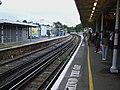 Lewisham railway stn platform 3 look east.JPG