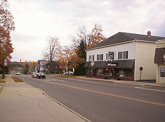 Lexington, Ohio - West Main Street in downtown Lexington in 2007