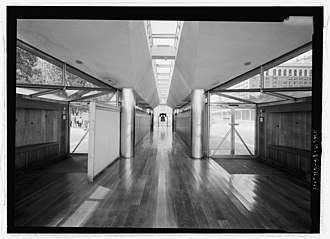 Liberty Bell Pavilion - Image: Liberty Bell Pavilion Interior HABS 213798pv