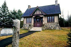 Gouldsboro, Maine - West Gouldsboro Village Library