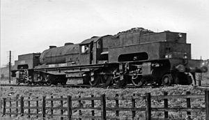 LNER Class U1 - No. 69999 on the Lickey Incline 1949