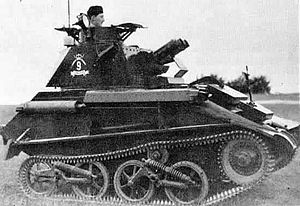 Light tank - British light tank Mk V
