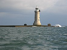 Lighthouse on Plymouth Breakwater - geograph.org.uk - 8427.jpg
