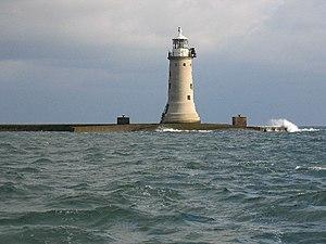 Plymouth Breakwater - Plymouth Breakwater Lighthouse