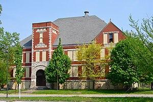 Lincoln School (Rock Island, Illinois) - Image: Lincoln School RI IL