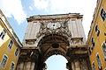 Lisbon's Arch De Triumph, Arco de Triunfo as seen from Rua Augusta. Lisbon, Portugal, Southwestern Europe.jpg