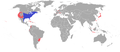 Lithobates catesbeianus distribution.png