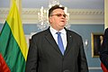 Lithuanian Foreign Minister Linkevicius Addresses Reporters During Joint News Conference With Secretary Kerry (16765367532).jpg