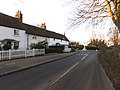 Little Berkhamsted, Hertfordshire, village street 01 - houses and war memorial.jpg