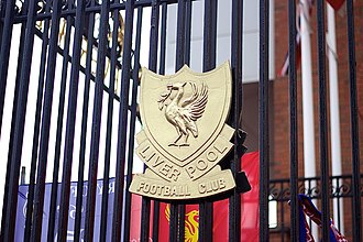 Liverpool F.C. - A version of Liverpool's Crest as depicted on the Shankly Gates