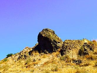 Wildwood Regional Park - Lizard Rock, in western Wildwood Park.