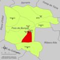 Localització de Macastre respecte de la Foia de Bunyol.png