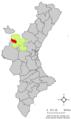 Localització de Toixa respecte del País Valencià.png