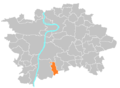 Location map municipal district Prague - Libuš.PNG