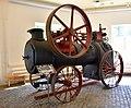 Locomotive, made by Munktell Mechanical Workshop in 1913, speed 120 per minute, 34 horsepower. Eskilstuna stadsmuseum, Sweden.jpg