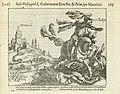 Lodewijk Gunther, prins van Nassau-Siegen en Filips, graaf van Nassau vechten samen met de Franse koning Hendrik IV bij Montmédy, 1595, BI-1958-935-219.jpg