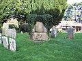 Log seat in St Marys Churchyard - geograph.org.uk - 354124.jpg
